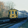 Class 205 No. 205018  leaves Lingfield for East Grinstead