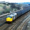 31108 heads a van train down through Wellingborough