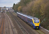 Adelante 180108  glides effortlessly past Tilehurst with 1W32  the 12.21 from Paddington to Great Malvern<br /> <br /> 4 March 2014